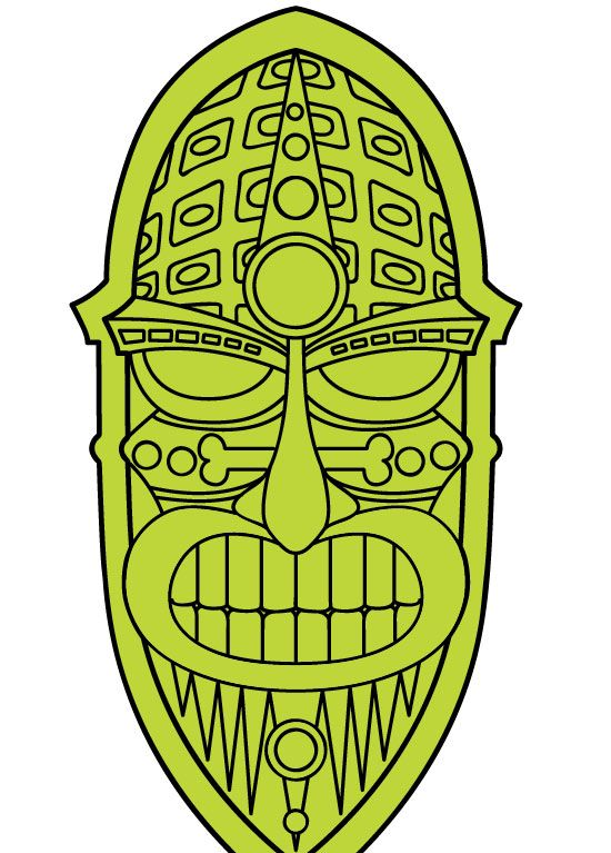 Tikis On Pinterest Quilt Sets Clip Art And Tiki Bars