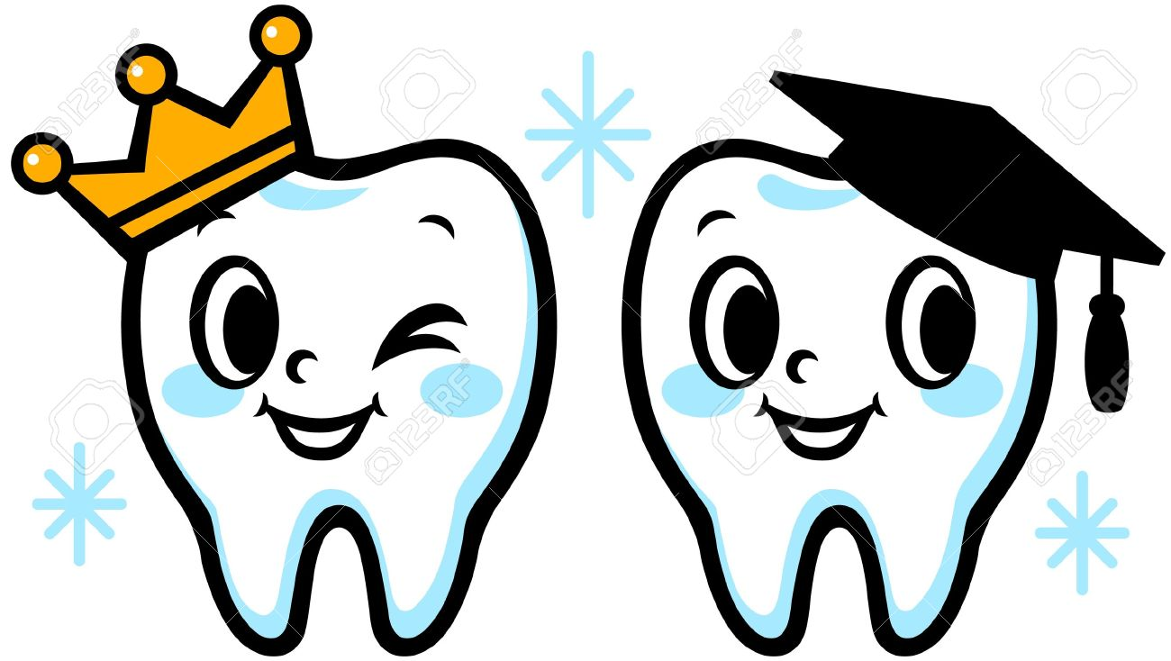 Tooth Illustrated Cliparts Stock Vector And Royalty Free Tooth