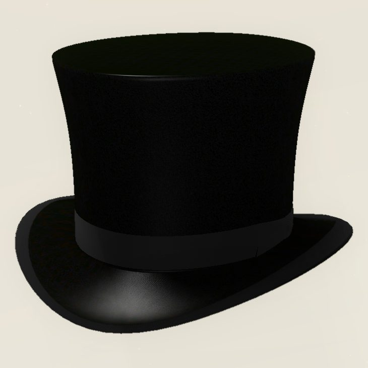 Top Hat Outline Lol Rofl Com