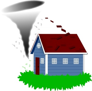 Tornado Clipart Image Tornado About To Hit A Home