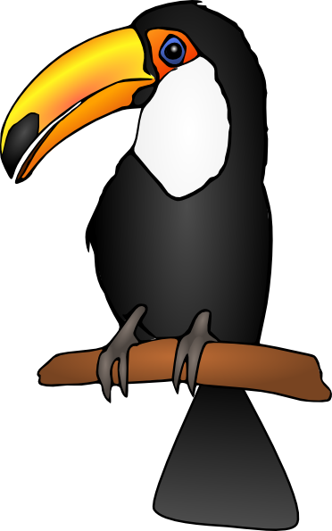 Toucan Clip Art At Vector Clip Art Online Royalty