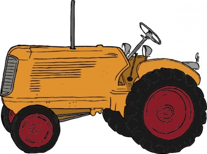 Tractor Clip Art Free Vector In Open Office Drawing