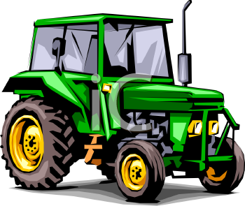 Tractor Clipart Black And White Free Clipart Images