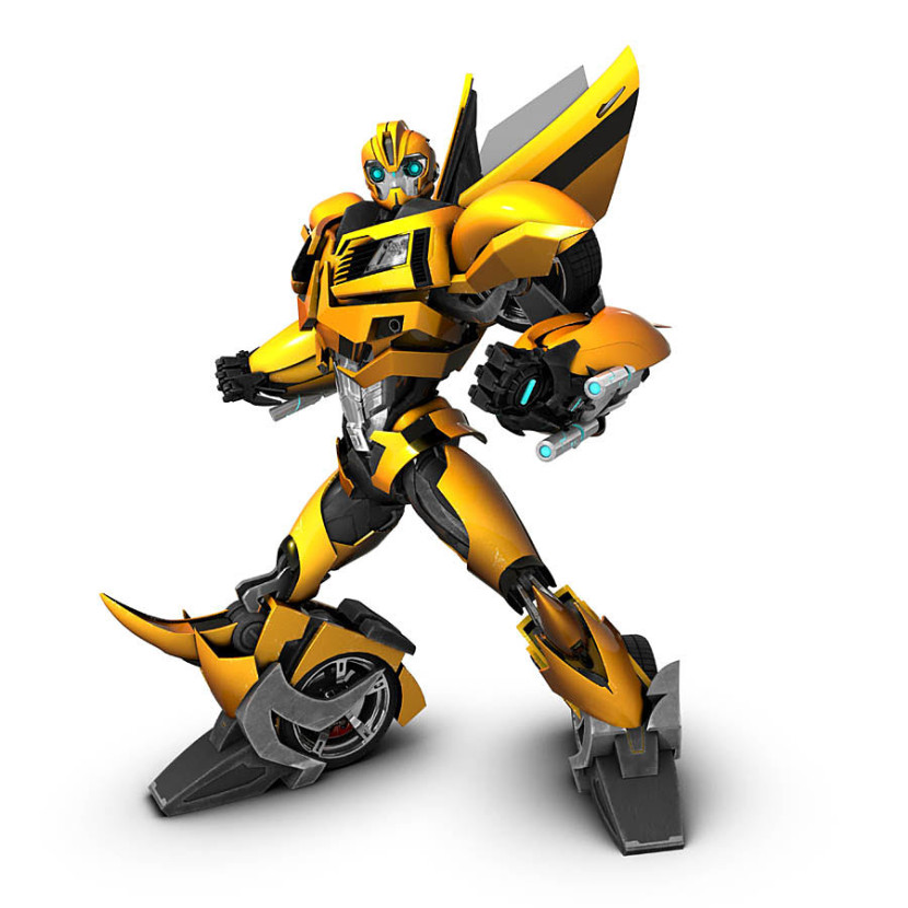 Transformers Animated Bumblebee Cartoon Clipart Free Clip Art Images