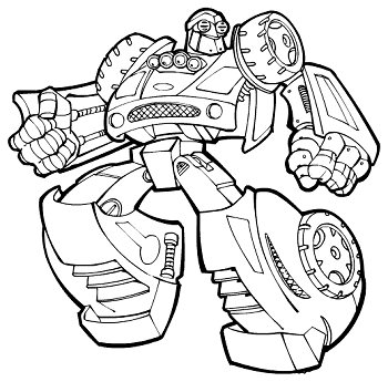 Transformers Coloring Pages Learn To Coloring