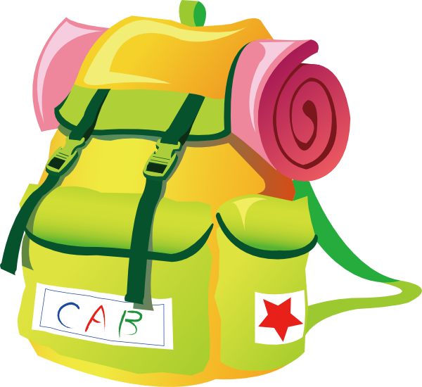 Travel Backpack Clip Art At Vector Clip Art Online