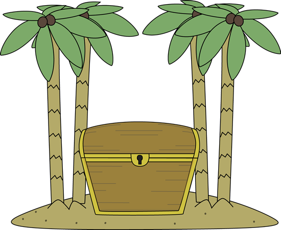 Treasure Chest On An Island Clip Art Treasure Chest On An Island
