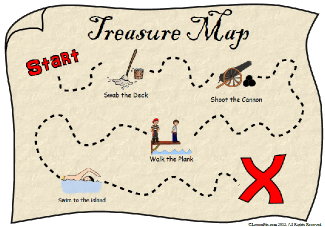 Treasure Map Clipart Clipartioncom