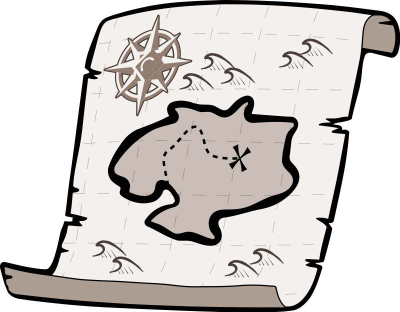Treasure Map2 Png