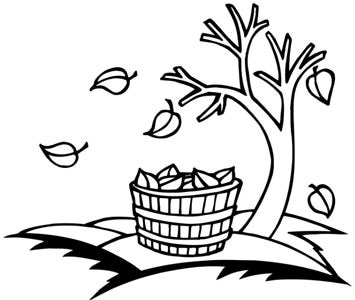 Tree Clip Art Black And White Free