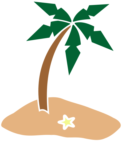 Tropical Island Clipart Free Clipart Images