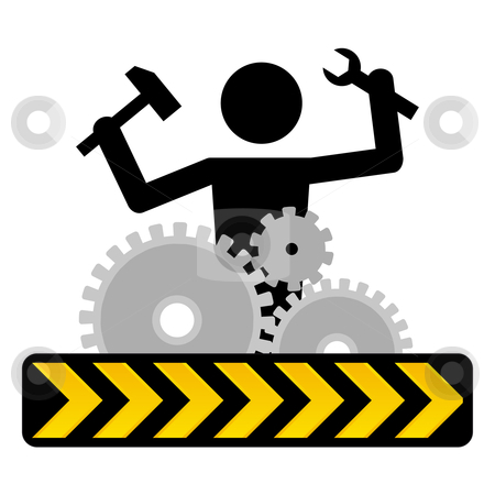Under Construction Stock Vector Iconclipart Free Clip Art Images