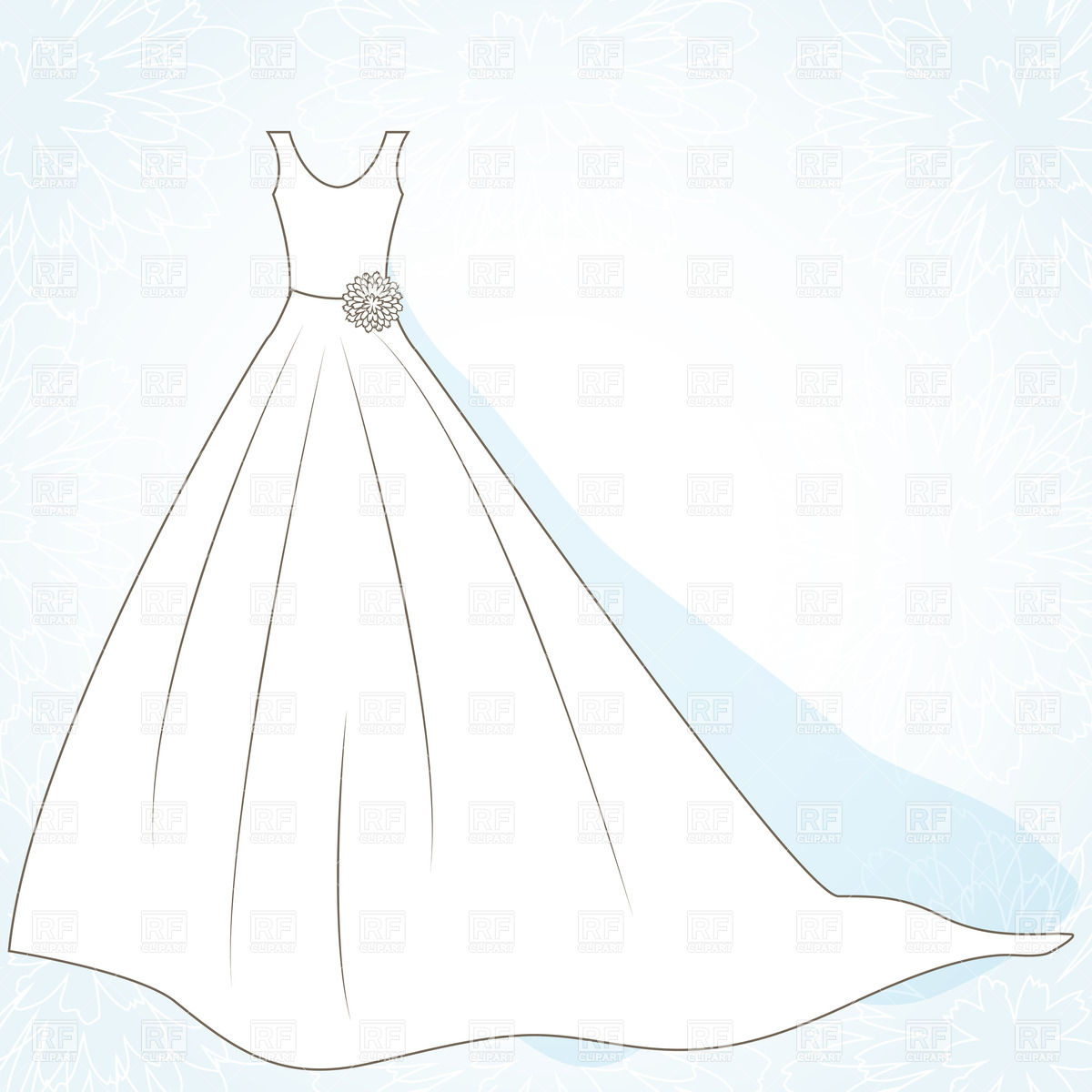 Unique Wedding Dress Outline Ideas 5 On Cake Wedding Ideas