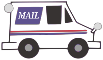 Us Mail Truck Clipart Gallery