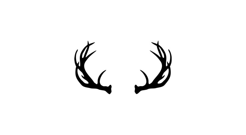 Vector Deer Antler Clip Art Deer Antlerdonaldmorrisgraphics