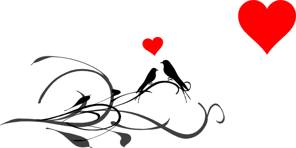 Best Love Birds Clipart 17847