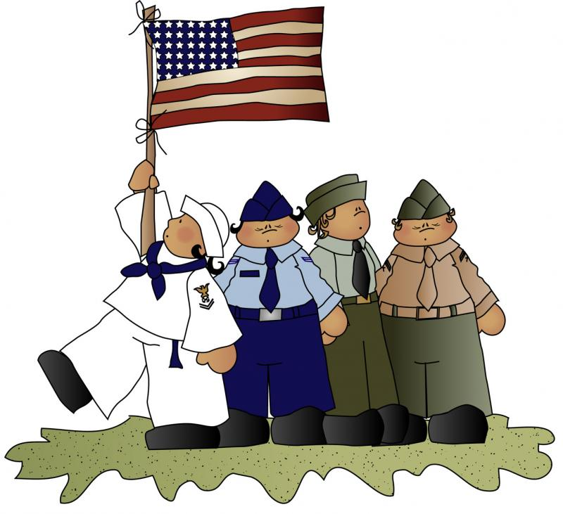 Veterans Day Clip Art 3