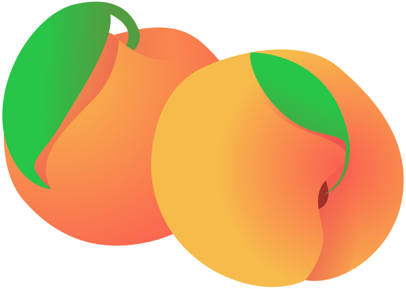 View Peaches Clipart Free Nutrition And Healthy Food Clipart