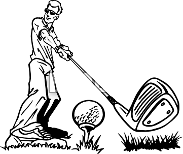 Vikings Golf Clipart