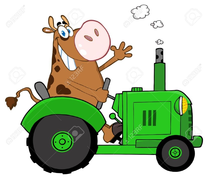 vintage tractor clipart - photo #44