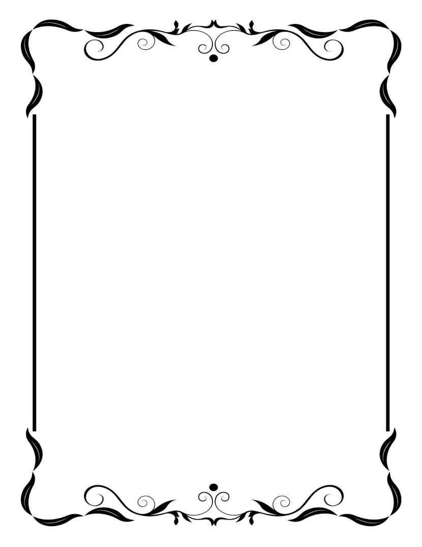 Vintage Picture Frame Clip Art Free Clipart Images