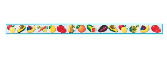 Wa Fruit Amp Vegetable Wallpaper Border Set Intimex