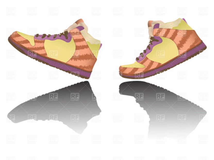 walking-feet Free Shoe Clip Art