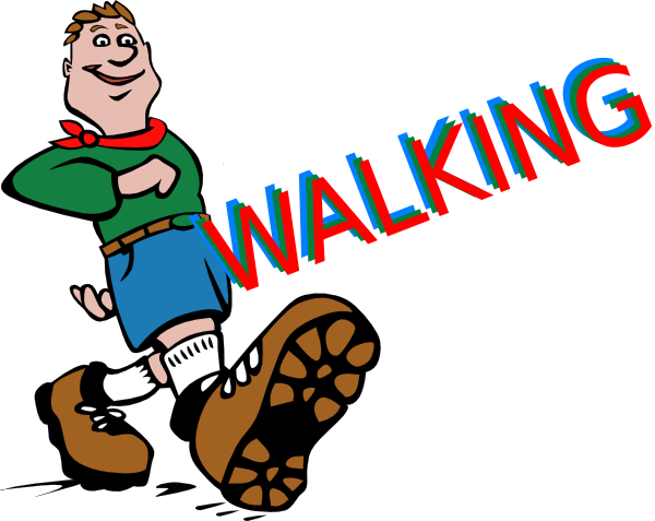 Walking walking-feet Shoes 8 Clipart Free Clip Art Images