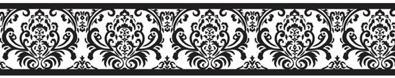 Wallpaper Black And White Borders