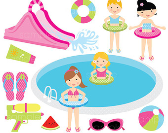 Water Slide Clipart Etsy