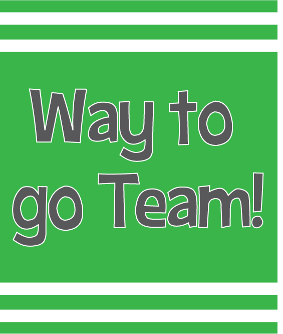 Way To Go Team Clipart Free Clip Art Images