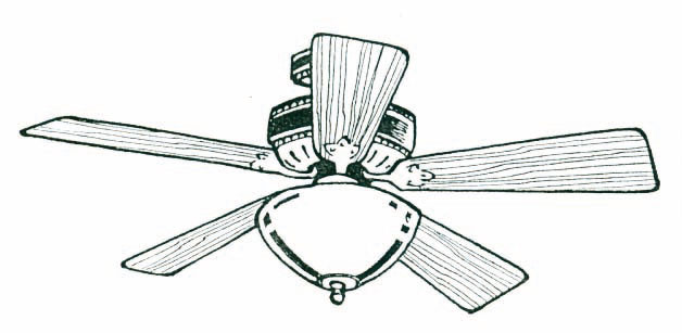 Best Ceiling Fan Clipart 20686