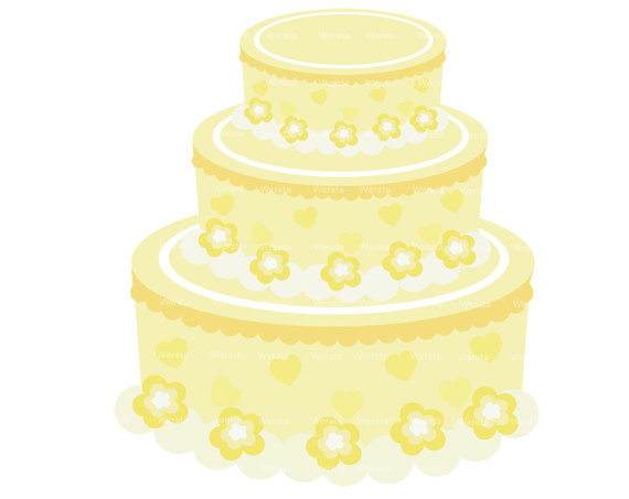 Wedding Cake Clipart Digital Clip Art Wedding