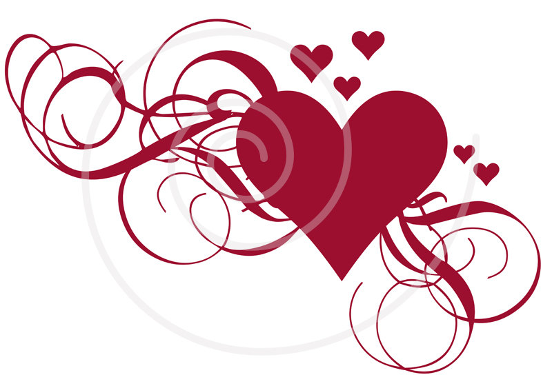 Wedding Clip Art Free Printables Popular Items For Heart Clip Art
