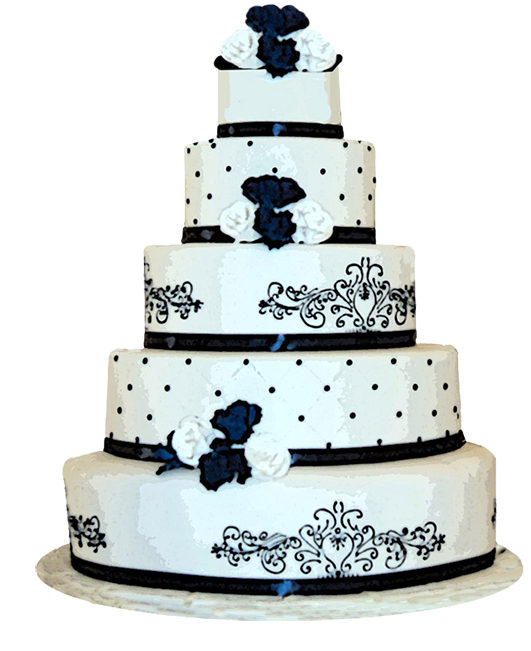 Wedding Png Transparent Free Images: Wedding Cake Clip Art