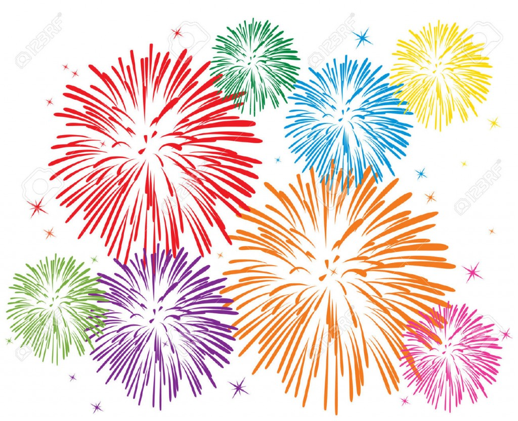 Best Fireworks Clipart #6734 - Clipartion.com