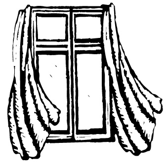 Window With Curtains Clipart Free Clipart Images
