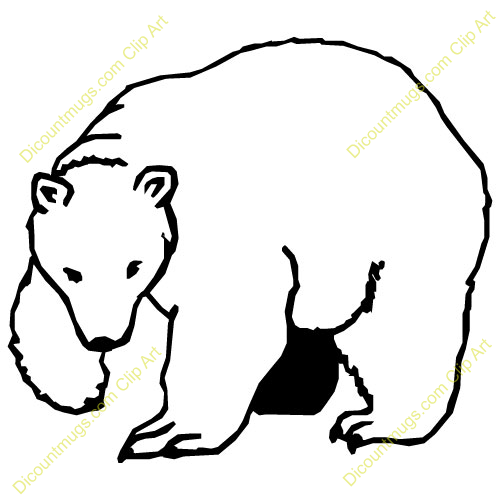 Winter Polar Bear Clipart Free Clipart Images