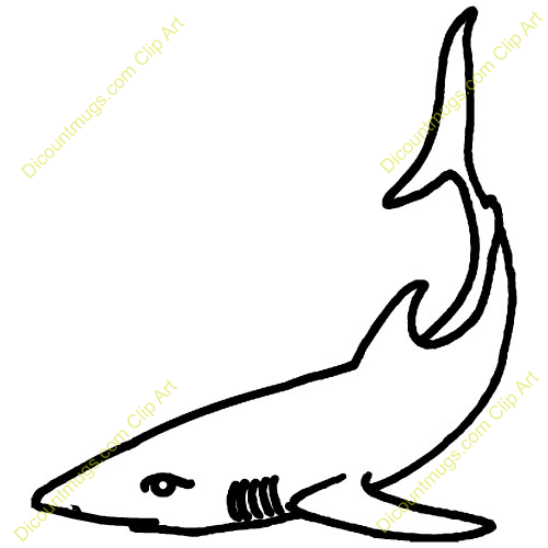 With This Shark Clip Art Free Clipart Images
