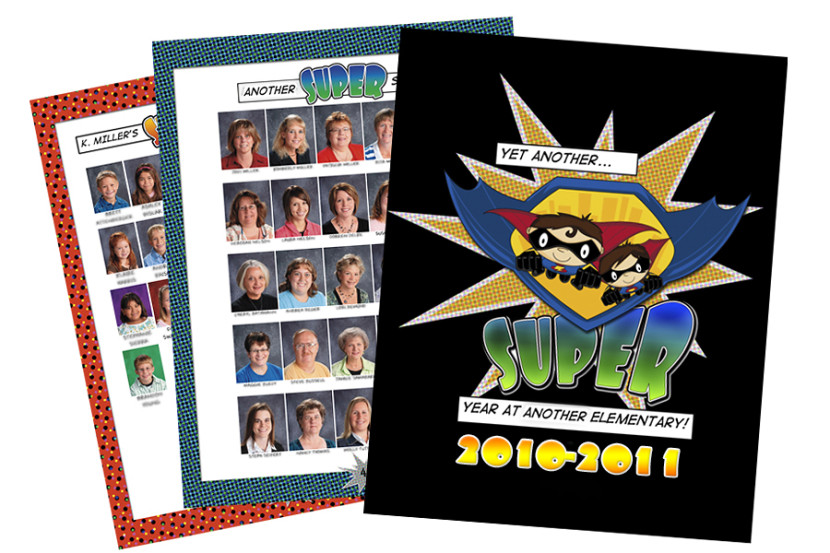 Yearbook Design Layouts