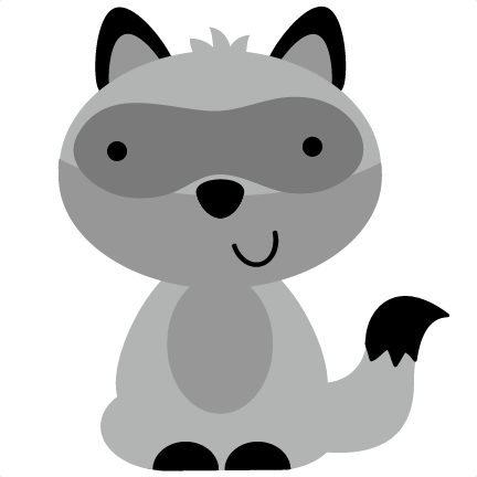Baby Raccoon Clipart Free