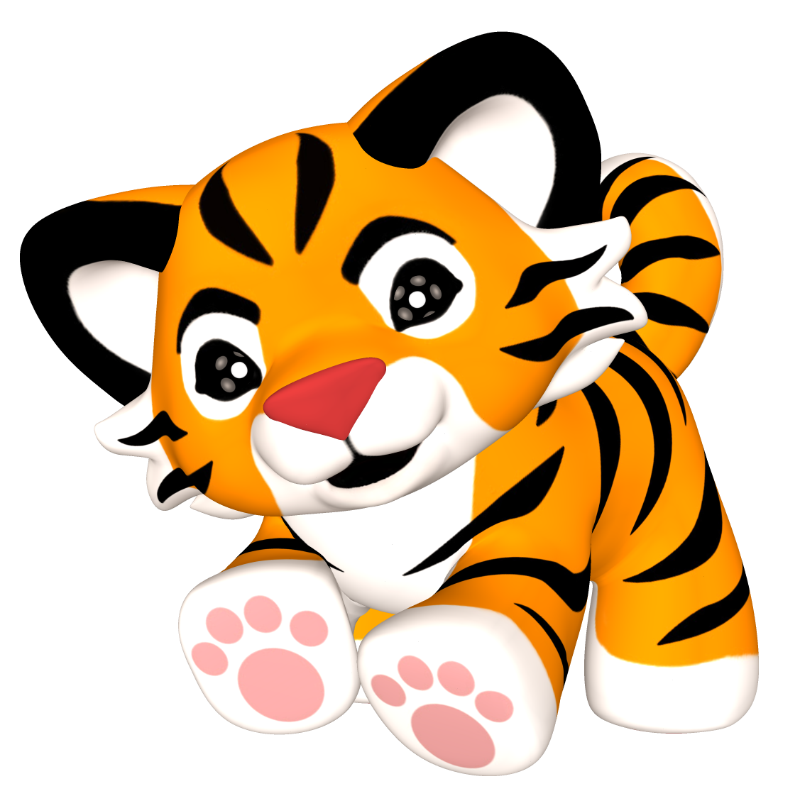 Best Baby Tiger Clipart #24510 - Clipartion.com