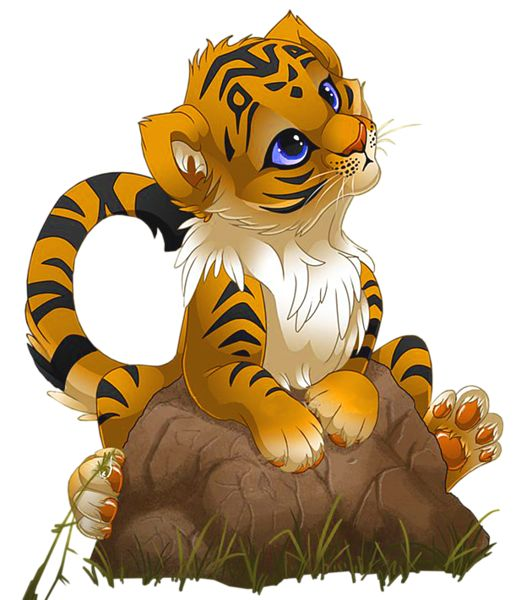 Baby Tiger Clipart - Clipartion.com