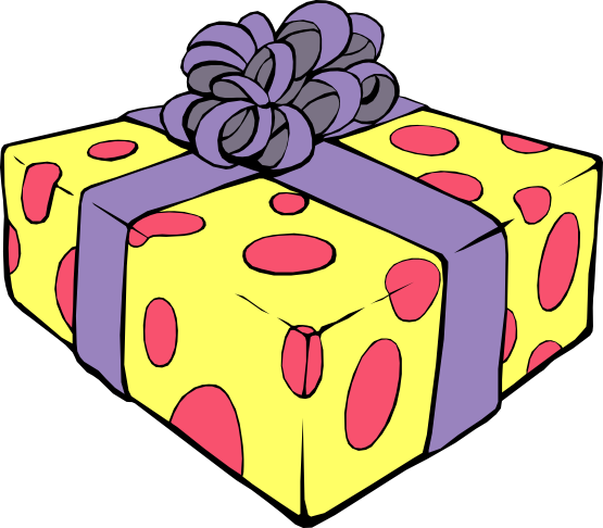 Birthday Present Clipart Free