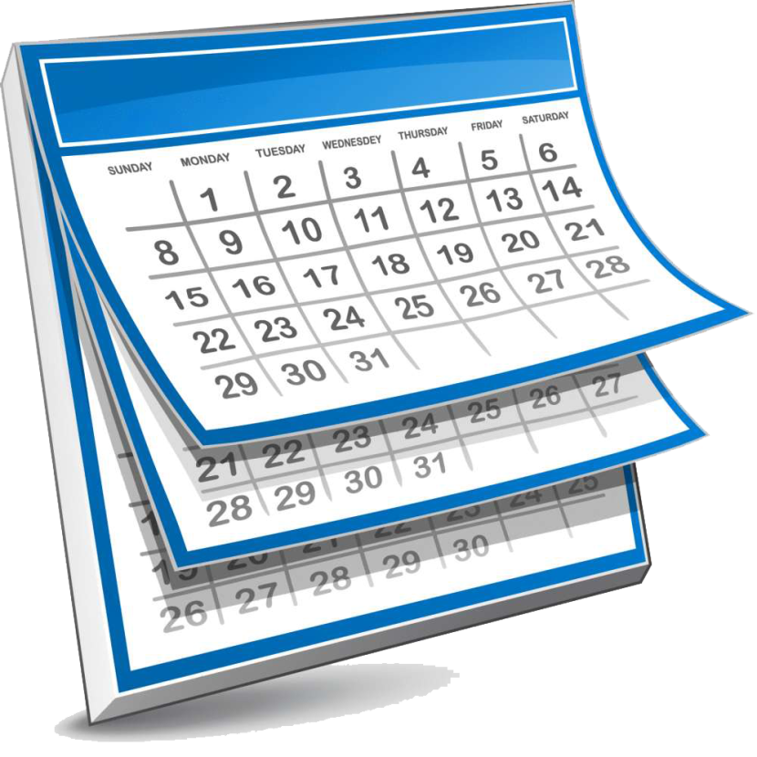 Clipart Calendar Graphic : Calendar clipart clipartion