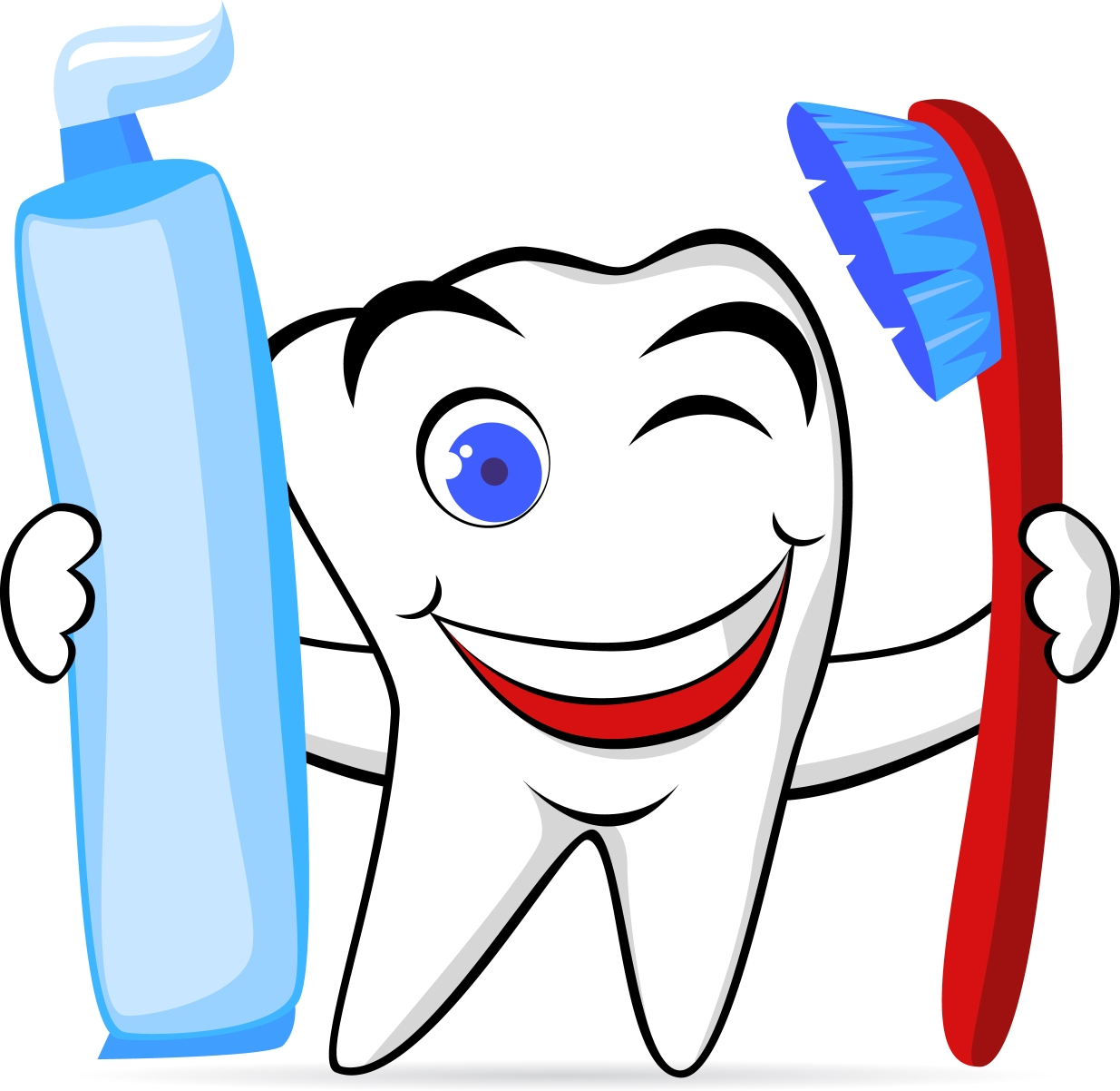 Toothbrush and toothpaste clipart, cliparts of Toothbrush ... |Tooth Toothbrush Graphic
