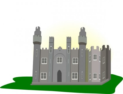 Castle Clip Art Free Vector In Open Office Drawing