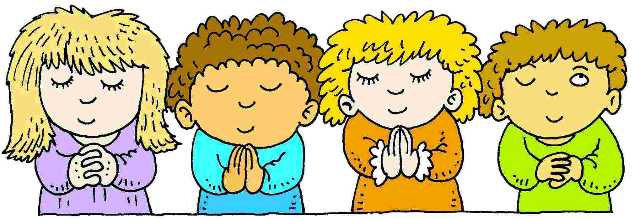 children praying clipart - photo #21
