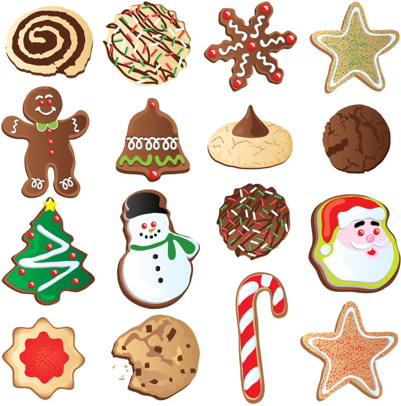 Christmas Cookie Clip Art Best Template Collection