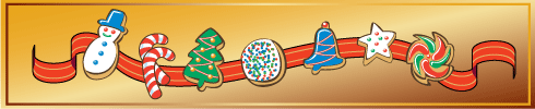 Christmas Cookies Borders Images